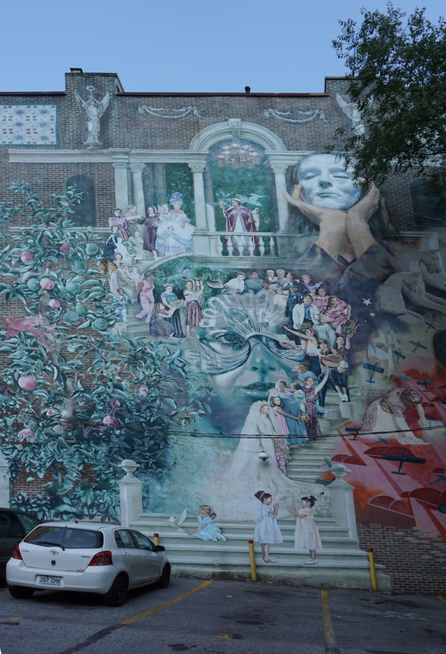 "Women of Progress by Cesar E Viveros-Herrera & Larissa Preston. - ""Philadelphia Mural Mile Tour: Get Inspired!"" - Two Traveling Texans"