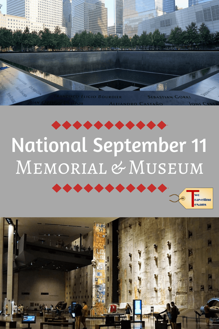 See what it is like to visit the National September 11 Memorial and Museum (includes video).  #nyc #911museum