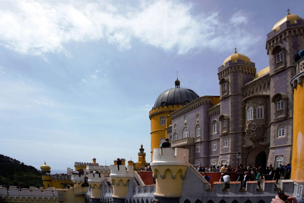 "Fairy Tale Castle Pictures - Plenty to explore on your visit to Pena Palace. - ""Pena Palace: Sintra's Fairytale Castle"" - Two Traveling Texans"