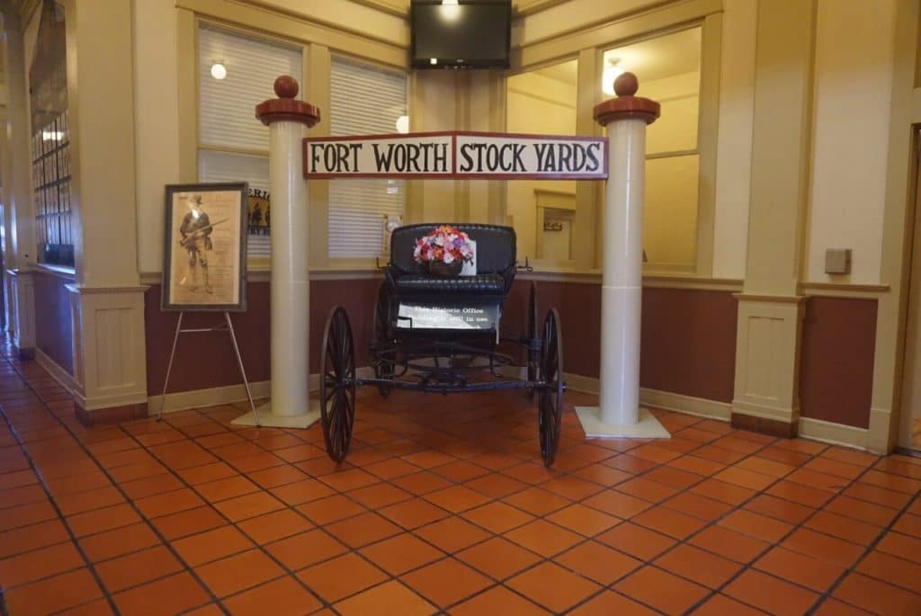 "Inside the Livestock Exchange Building. - ""Fort Worth Stockyards: Learn About the Old West"" - Two Traveling Texans"