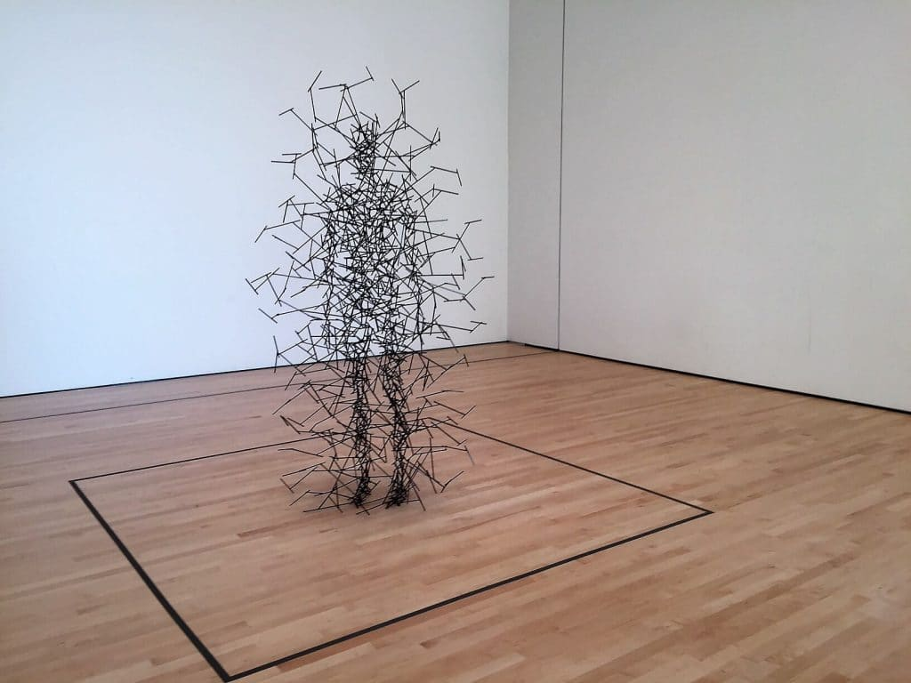 """Quantum Cloud VII"" by Antony Gormley - ""SFMOMA: Modern Art in a New Setting"" - Two Traveling Texans"