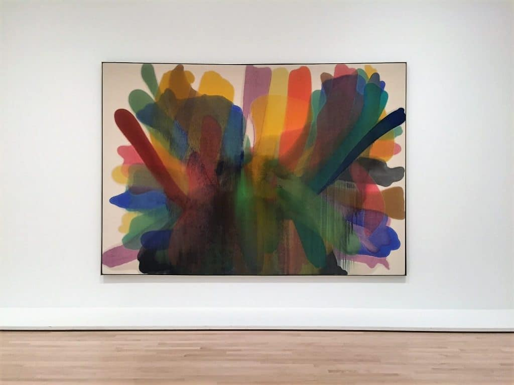 "Morris Louis's Untitled - ""SFMOMA: Modern Art in a New Setting"" - Two Traveling Texans"