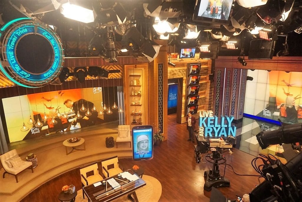"""Watching the set while waiting for Live to start taping. - - """"How to See TV Tapings in NYC With 1iota Tickets"""" - Two Traveling Texans"""
