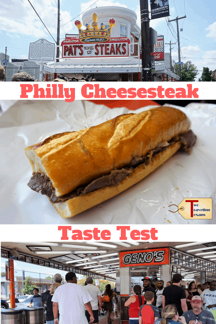 Who makes the best Philly Cheesesteak? We went to Pat's and Geno's in South Philadelphia to find out. | Foodie | Travel #phillycheesesteak #whattoeatinphilly