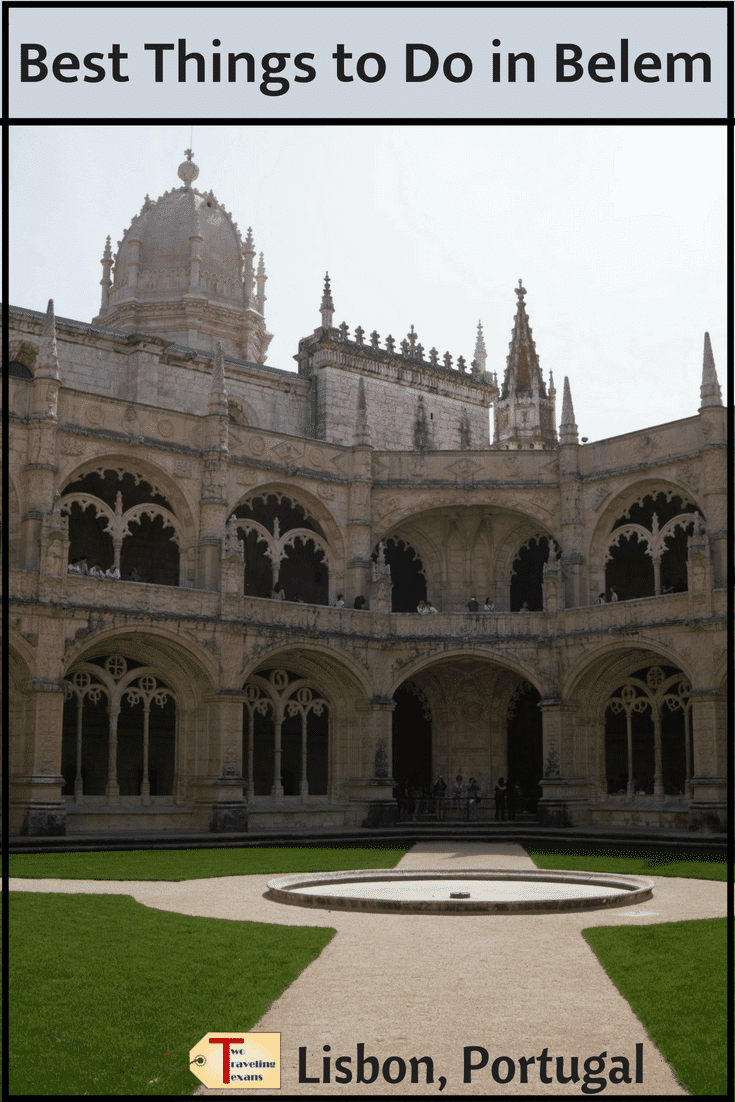 You really must visit Belem when you are in Lisbon. Find out the best things to do in Belem Portugal including tips for visiting Belem Tower and Jeronimos Monastery. | Belem Tower Lisbon | Belem Portugal Belem Pasteis | Lisbon Belem Tower | Jeronimos Monastery Lisbon | Jeronimos Monastery Portugal | Belem Food | Belem Lisbon Portugal | Lisbon Portugal Travel | Lisbon Portugal Things to Do In | Lisbon Portugal Photography #towerofbelem #jeronimosmonastery #portugal #travel