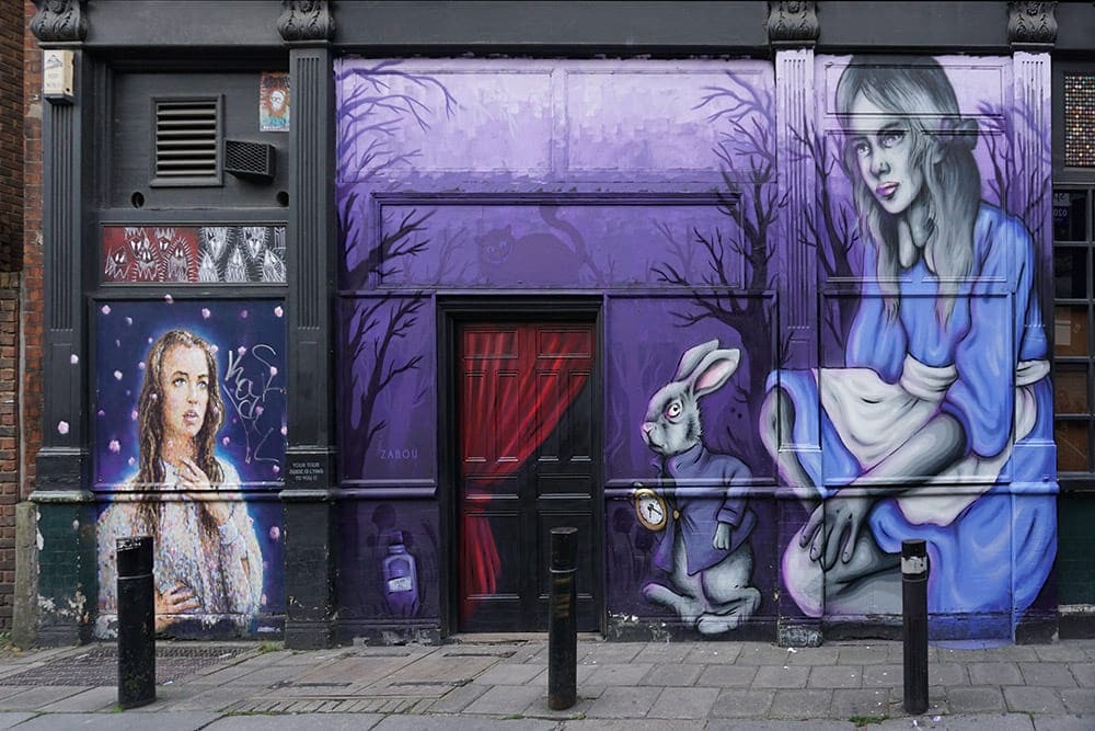 Free Shoreditch Street Art Tour