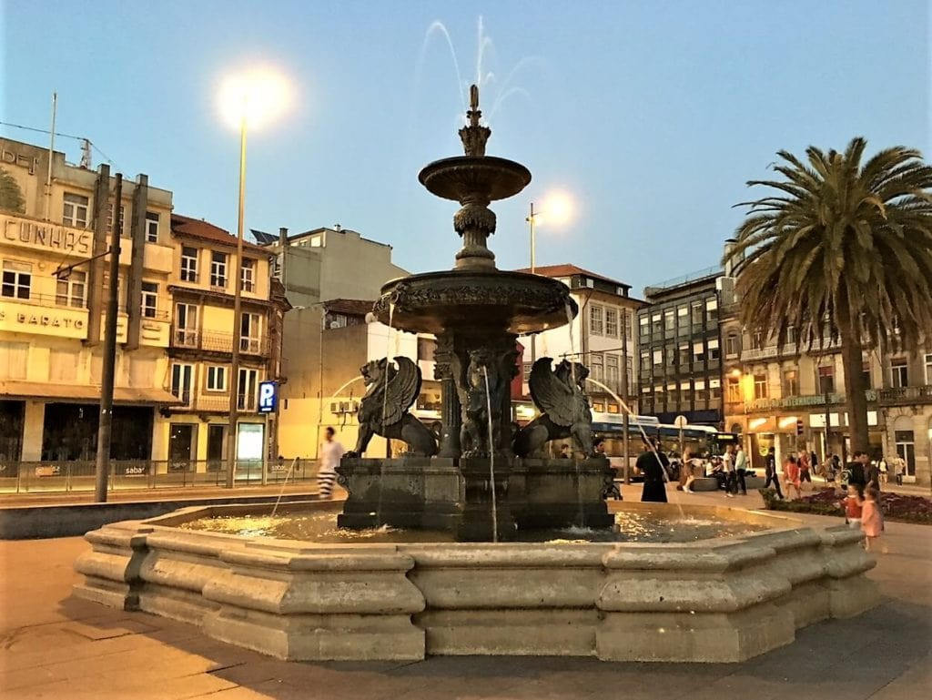 "Evening in the Old Town in Porto - ""Our Amazing Portugal Road Trip Itinerary"" - Two Traveling Texans"