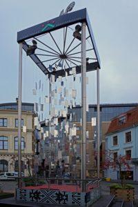 "The 'Mirror Fir Tree' or the 'Shooting Tree' - ""Riga Christmas Market Fun"" - Two Traveling Texans"
