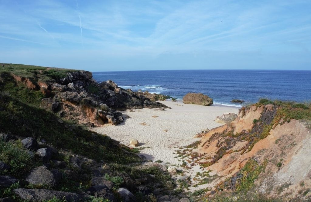 "The Algarve coast is so scenic! - ""Our Amazing Portugal Road Trip Itinerary"" - Two Traveling Texans"