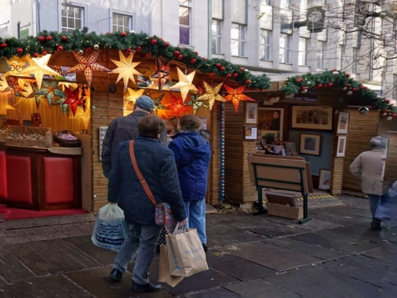 "You will find lots of different gift ideas at the York Christmas Market. - ""St. Nicholas Fair York Christmas Market Guide"" - Two Traveling Texans"