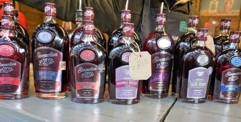 "Some of the interesting drinks I found at St. Nicholas Fair. - ""St. Nicholas Fair York Christmas Market Guide"" - Two Traveling Texans"