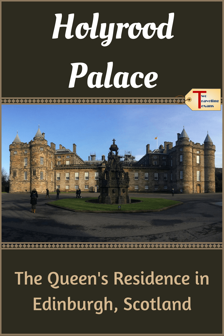 Thinking about visiting Palace of Holyroodhouse, the Queen's Official Residence in Edinburgh, Scotland? See what it is like inside Holyrood Palace and get all the information you need to make the most of your visit.  Note: Visits to Holyrood Palace also include seeing Holyrood Abbey and the Holyrood Palace Gardens. #castles #scotland | Holyrood Palace Edinburgh Scotland