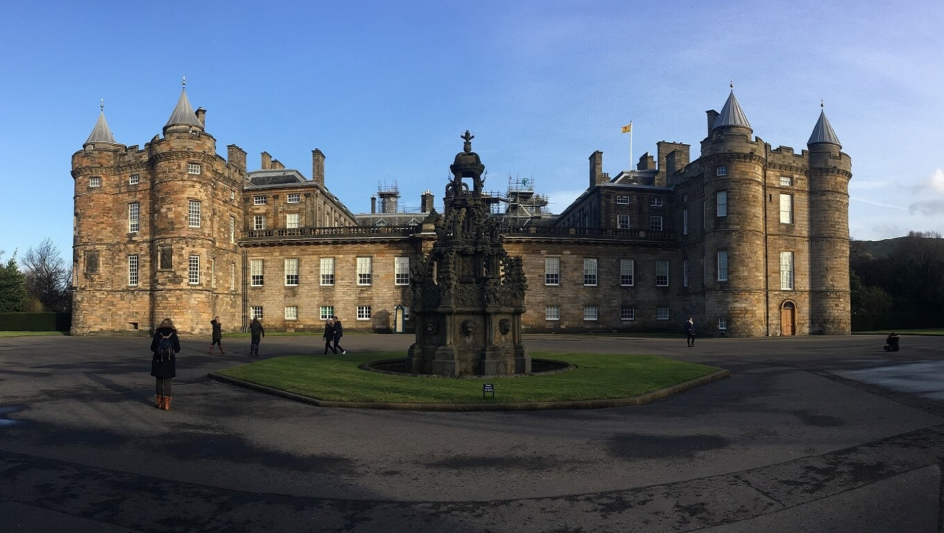 "Holyrood Palace Pictures - ""Inside Holyrood Palace"" - Two Traveling Texans"