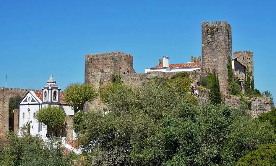 The Obidos Castle which is now a hotel. -