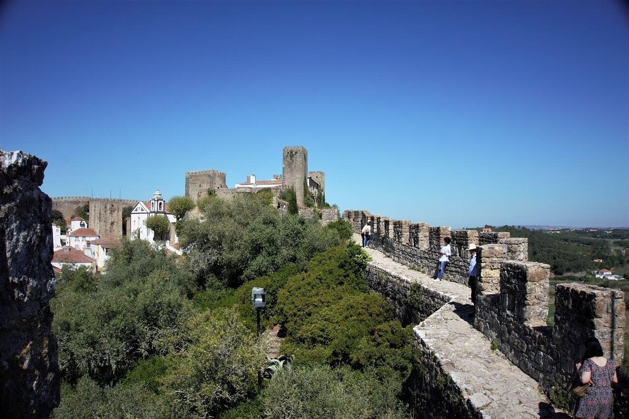 obidos city walls