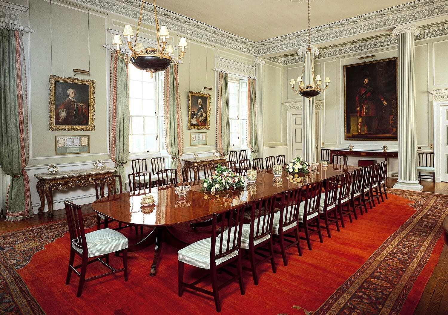 Neat To See Where The Royal Family Dines!   Image Credit: Royal Collection  Trust