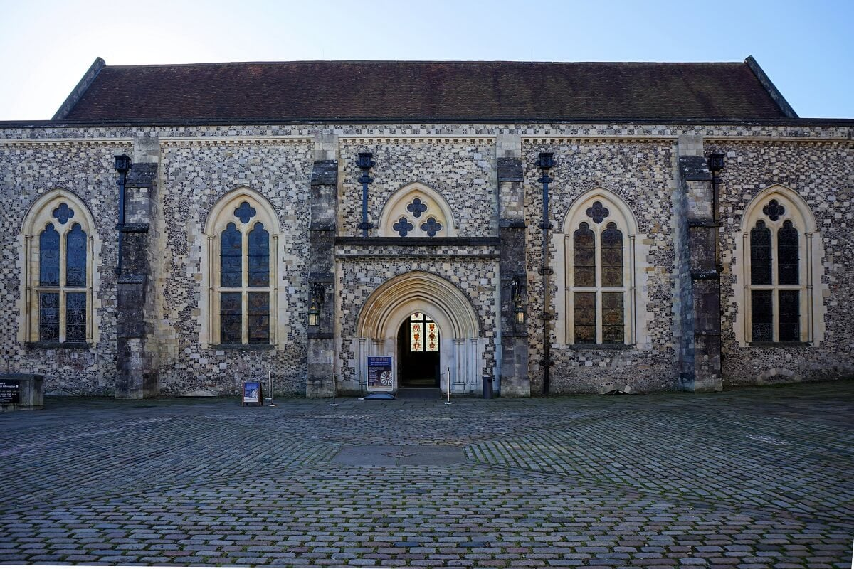 Winchester's Great Hall -