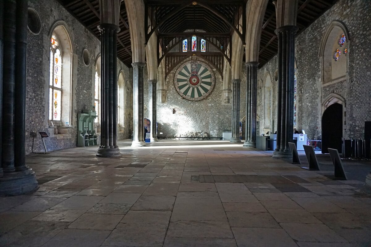 Inside the Great Hall -
