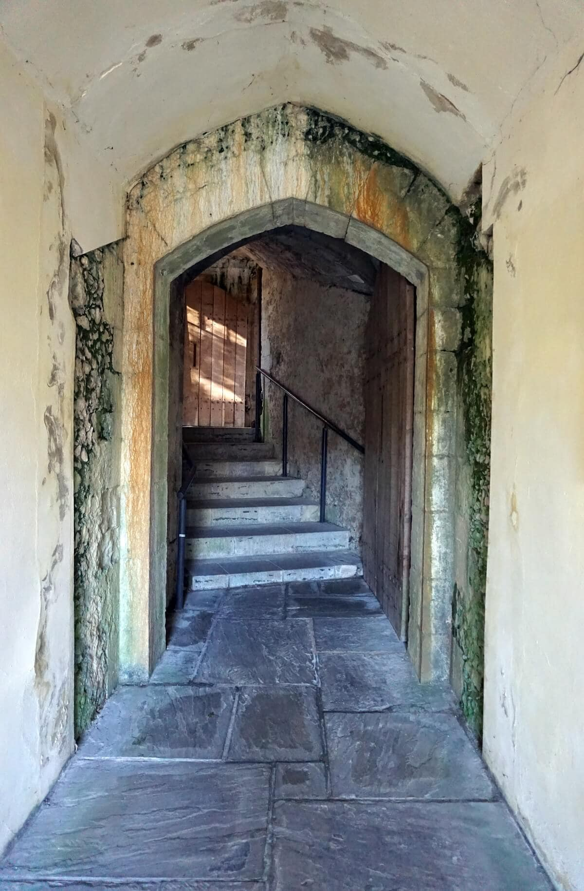 Winchester Castle Passageways -