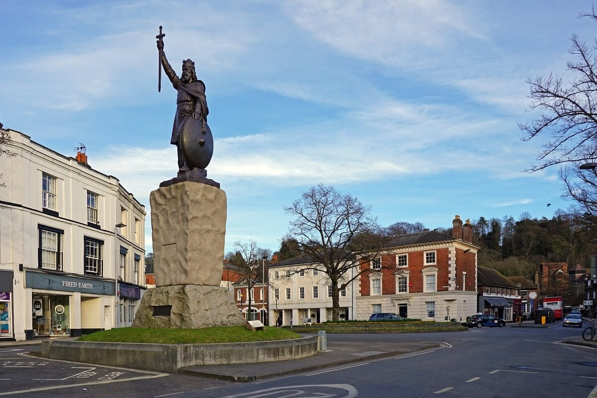Alfred the Great Statue -