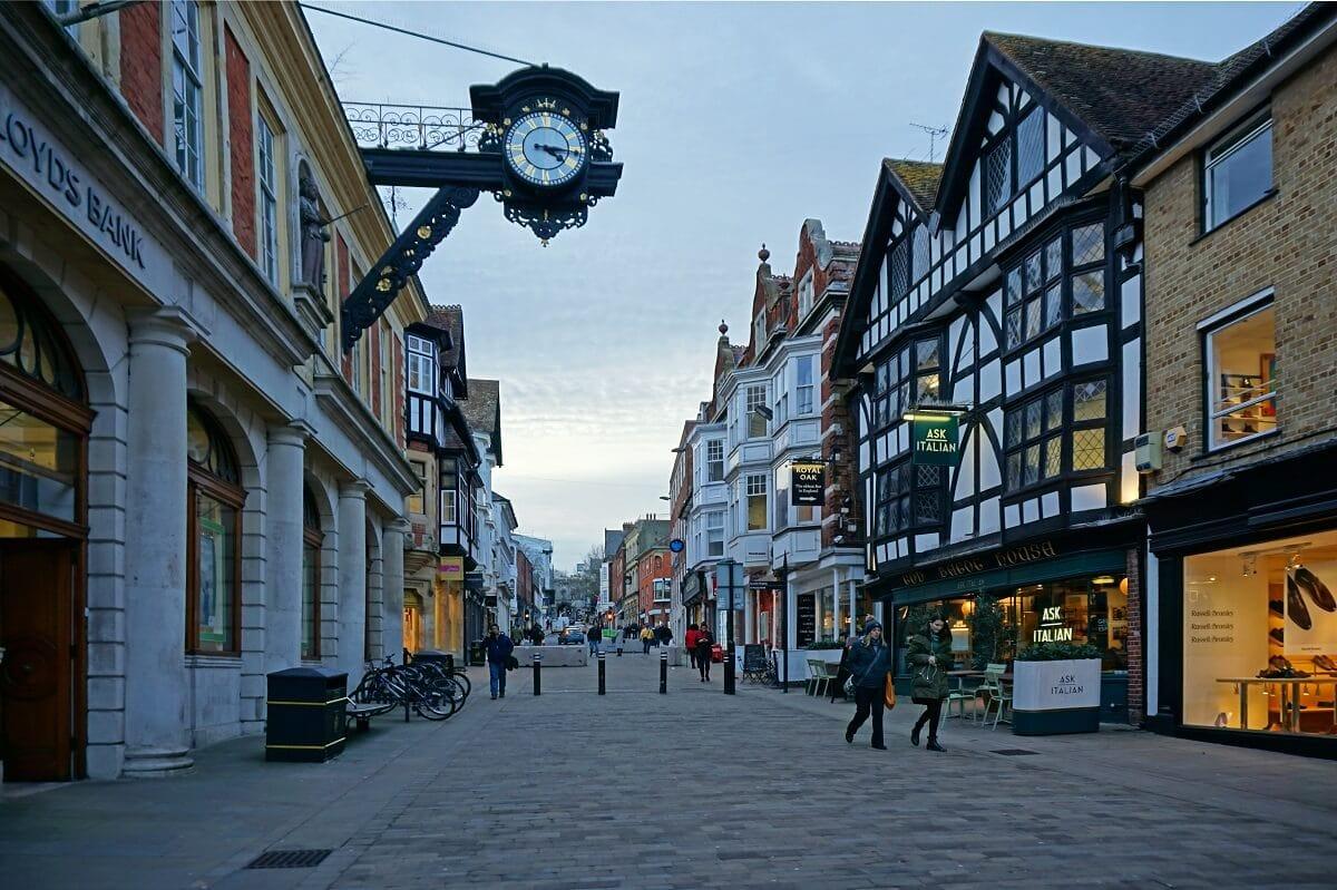 Winchester High Street -