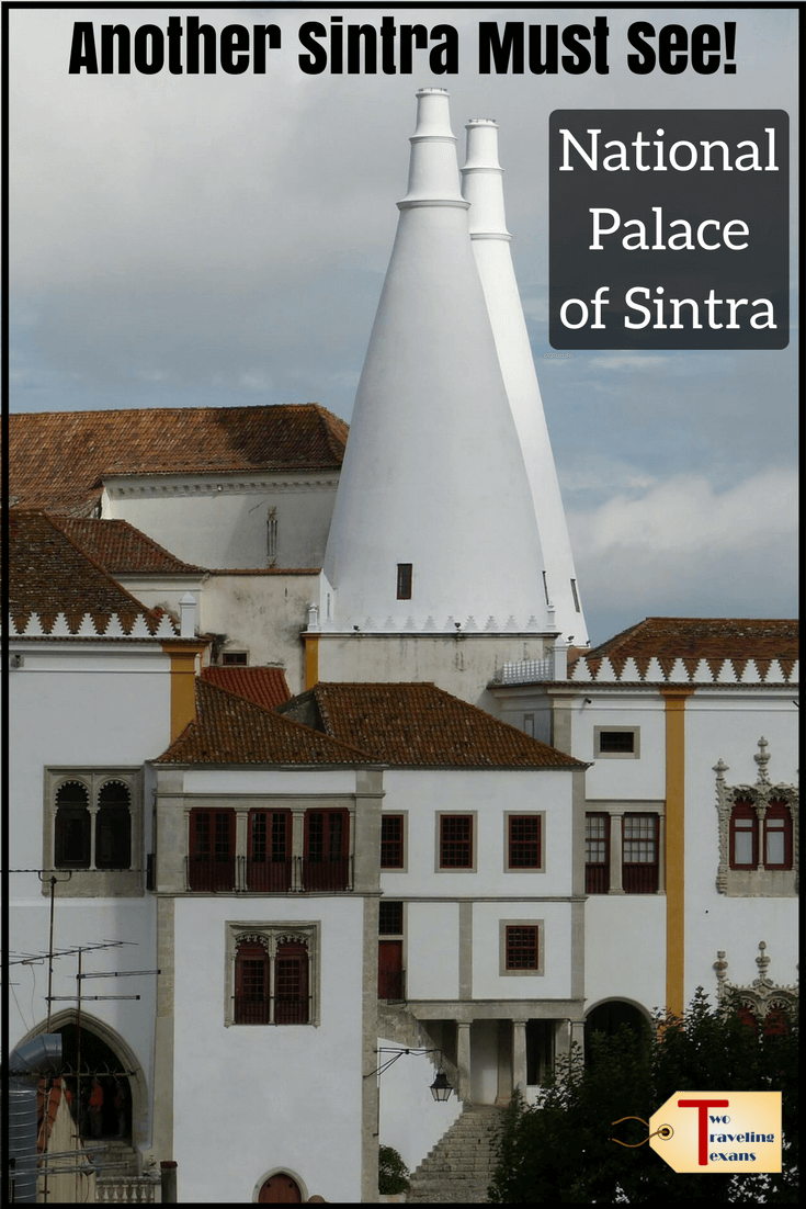 Planning a visit to Sintra? Make sure you visit the National Palace of Sintra.  Find out what to expect and get tips for visiting Sintra National Palace.  | Sintra Portugal Castle | Sintra Castle Portugal | Sintra Palace | Sintra Palacio Nacional | Portugal Palace | #castles #portugal