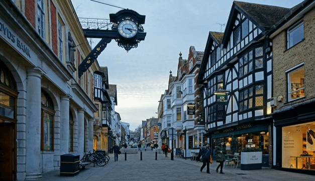 Discovering Historic Winchester England