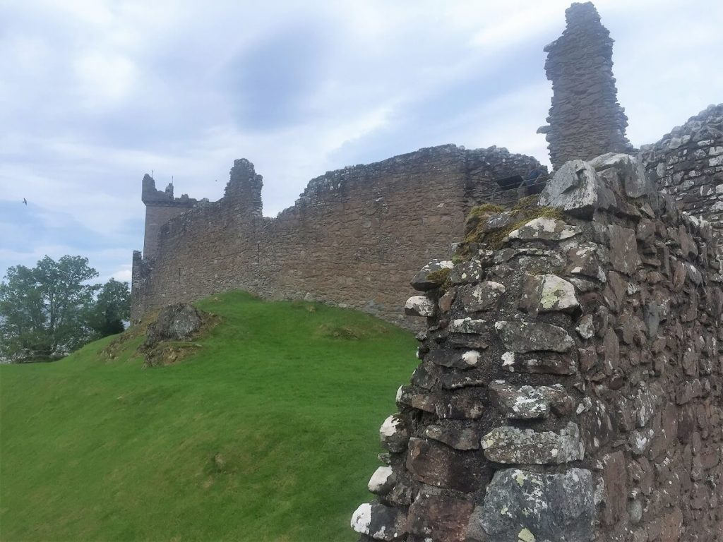You can imagine how impressive the castle walls must have been.