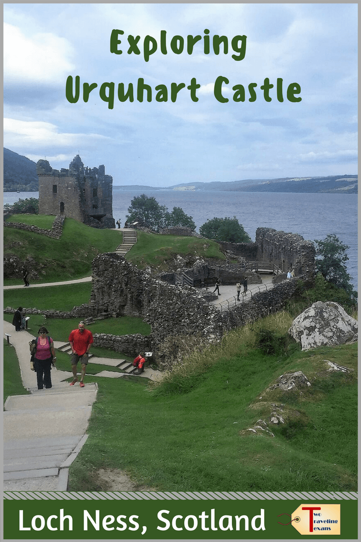 Thinking about visiting Urquhart Castle on Loch Ness? Click to read about Urquhart Castle history, how to get to Urquhart Castle, and what you can expect to see on your visit to Urquhart Castle in Scotland. #scotland #castles | Urquhart Castle Loch Ness | Urquhart Castle Scotland | Castle Urquhart | Loch Ness Castle | Scotland Castles Loch Ness | Loch Ness Scotland Castles