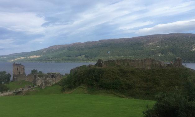 Visit Urquhart Castle on Loch Ness