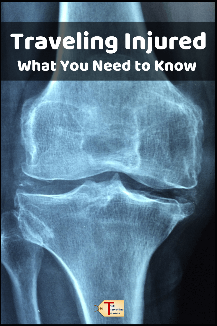 xray of knee with text -