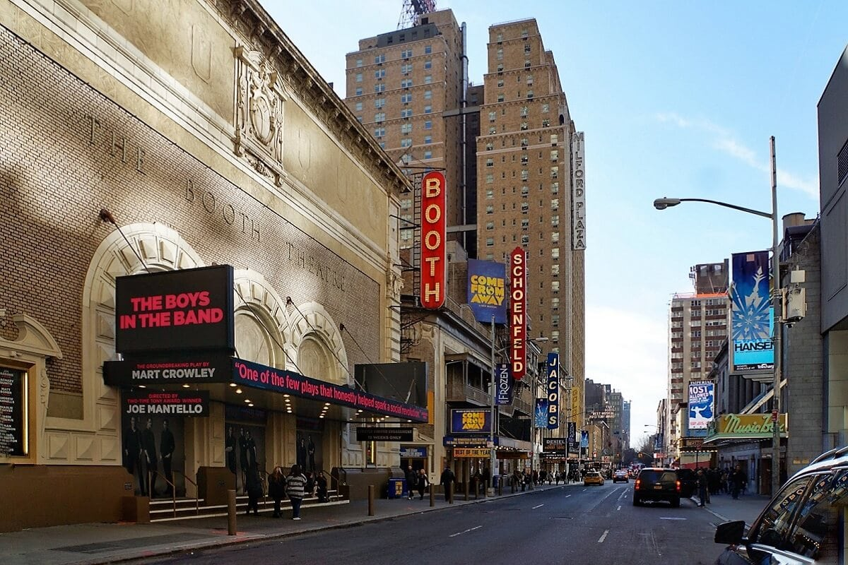 "There are a total of 41 Broadway Theaters! ""Inside Broadway Tour: Discover NYC's Theater District"" - Two Traveling Texans"