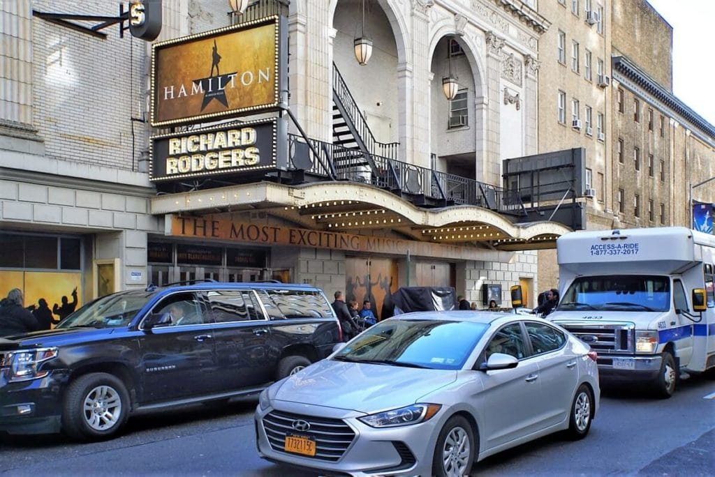 "Hamilton is the most popular Broadway show in years! ""Inside Broadway Tour: Discover NYC's Theater District"" - Two Traveling Texans"