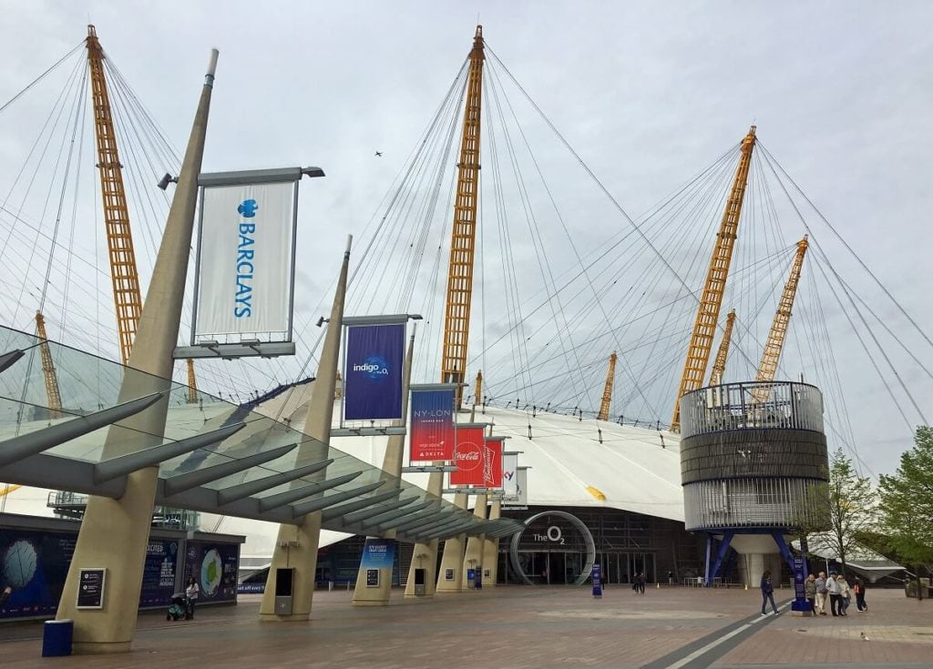 The O2 has a unique design with lots of symbolism. - Climb The O2: A London Icon - Two Traveling Texans