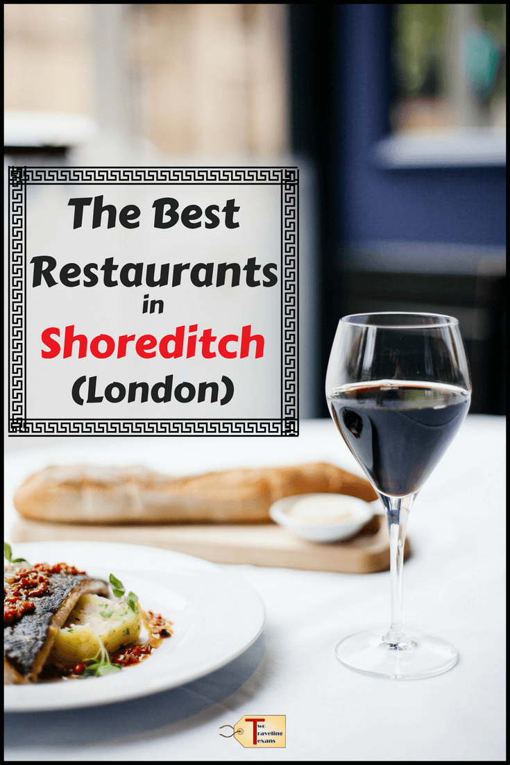 Get a list of the best restaurants in Shoreditch London from bloggers including recommendations for cheap eats in Shoreditch, trendy restaurants in Shoreditch, and upscale places to eat in Shoreditch.  #london #diningout #foodtravel #foodie #shoreditch #collab