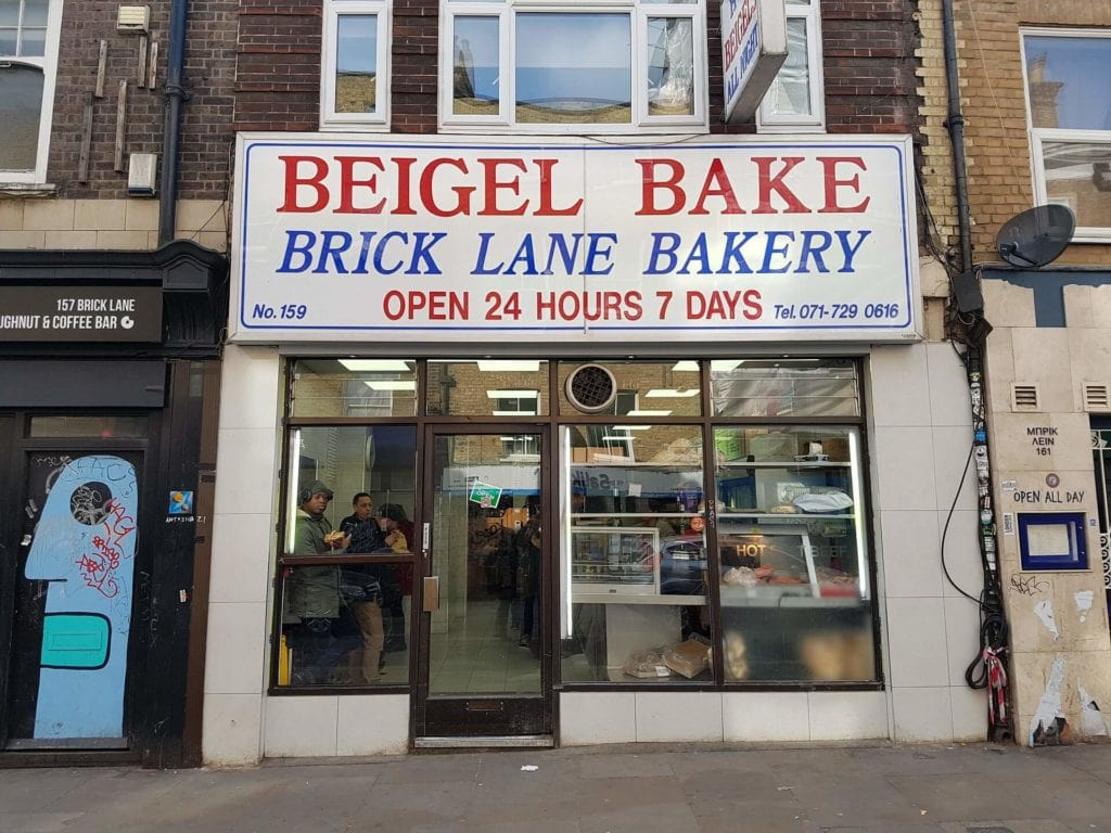 Beigel Bake might not look like much, but you have got to try it for yourself! - The Best Restaurants in Shoreditch - Two Traveling Texans