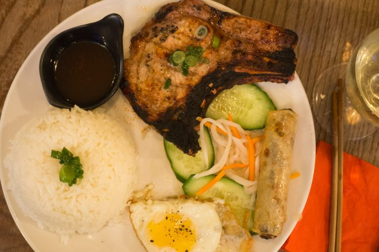 The Hawker Plate at Viet Grill - The Best Restaurants in Shoreditch - Two Traveling Texans