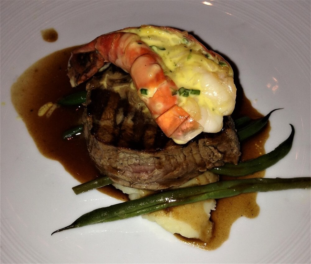 Steak and Lobster night - The Pros and Cons of Cruises - Two Traveling Texans