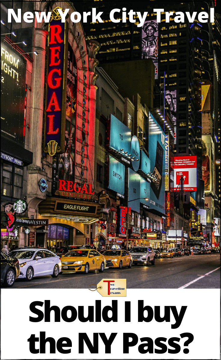 times square nyc with text overlay