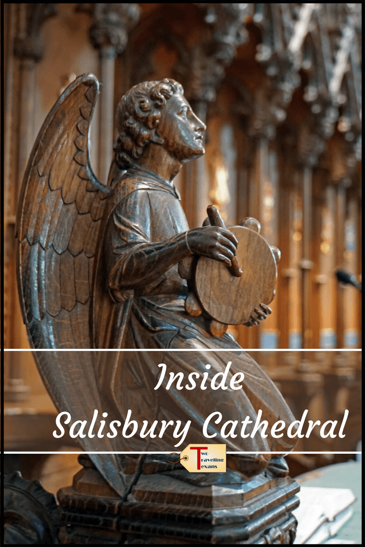 Find out why you need to visit Salisbury Cathedral in England.  You can see the Magna Carta and if you go before July 22, 2018 see the Les Colombes origami art installation.  Salisbury Cathedral England | Salisbury Cathedral Architecture | Salisbury Cathedral Church | Salisbury Cathedral interior | Salisbury Cathedral Pictures #england #salisbury #historicchurches #origami