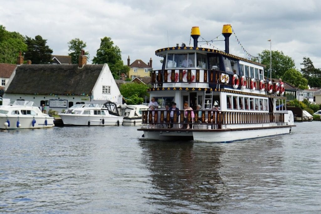 "One of the bigger boats you will find on the Norfolk Broads. - ""Hire a Boat on the Norfolk Broads"" - Two Traveling Texans"