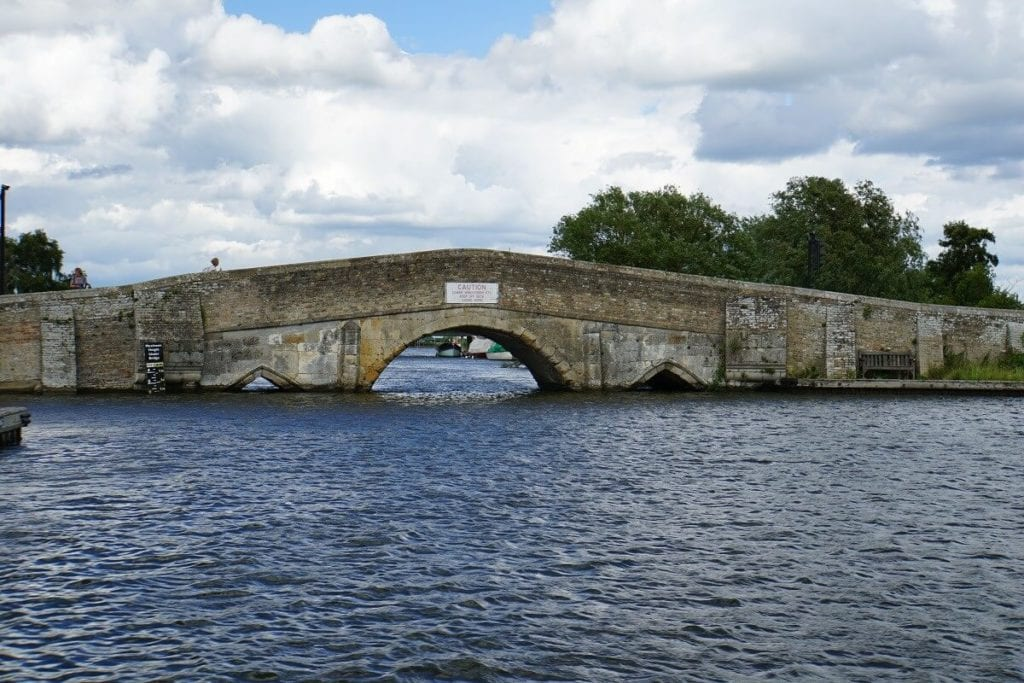 "The infamous Potter Heigham Bridge. - ""Hire a Boat on the Norfolk Broads"" - Two Traveling Texans"