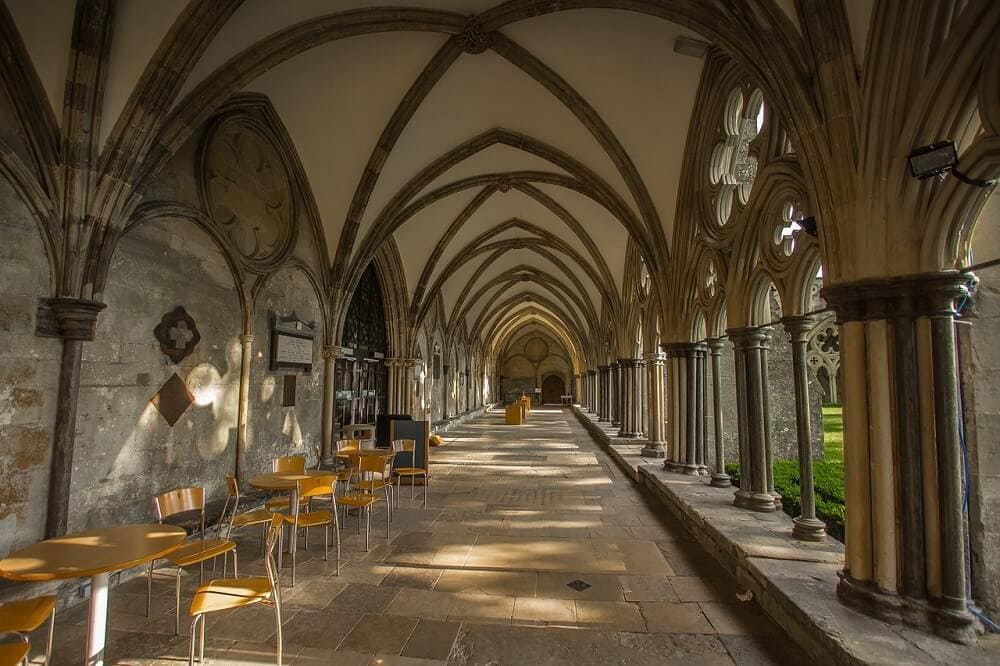 Salisbury Cathedral Cloisters