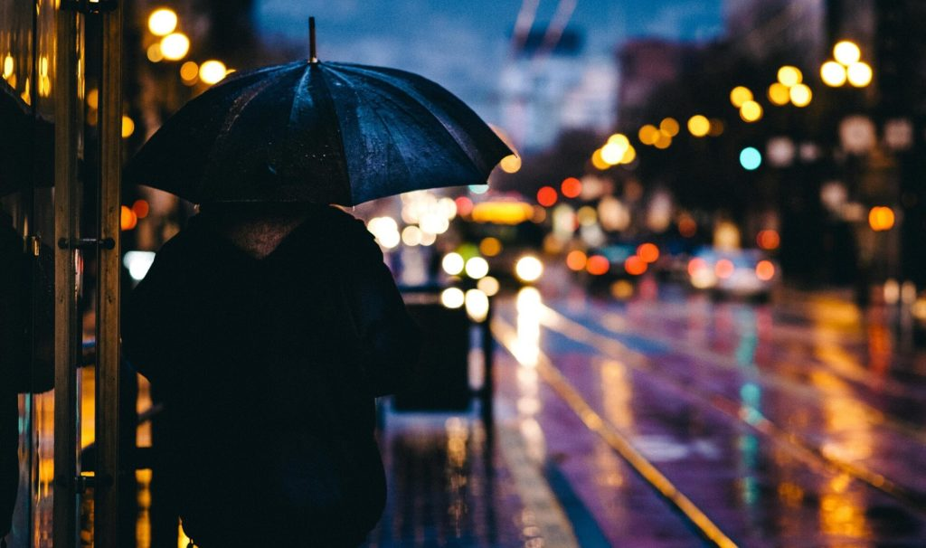 "You don't want to be caught in the rain in the city without an umbrella! - Tips for Visiting New York City For the First Time"" - Two Traveling Texans"