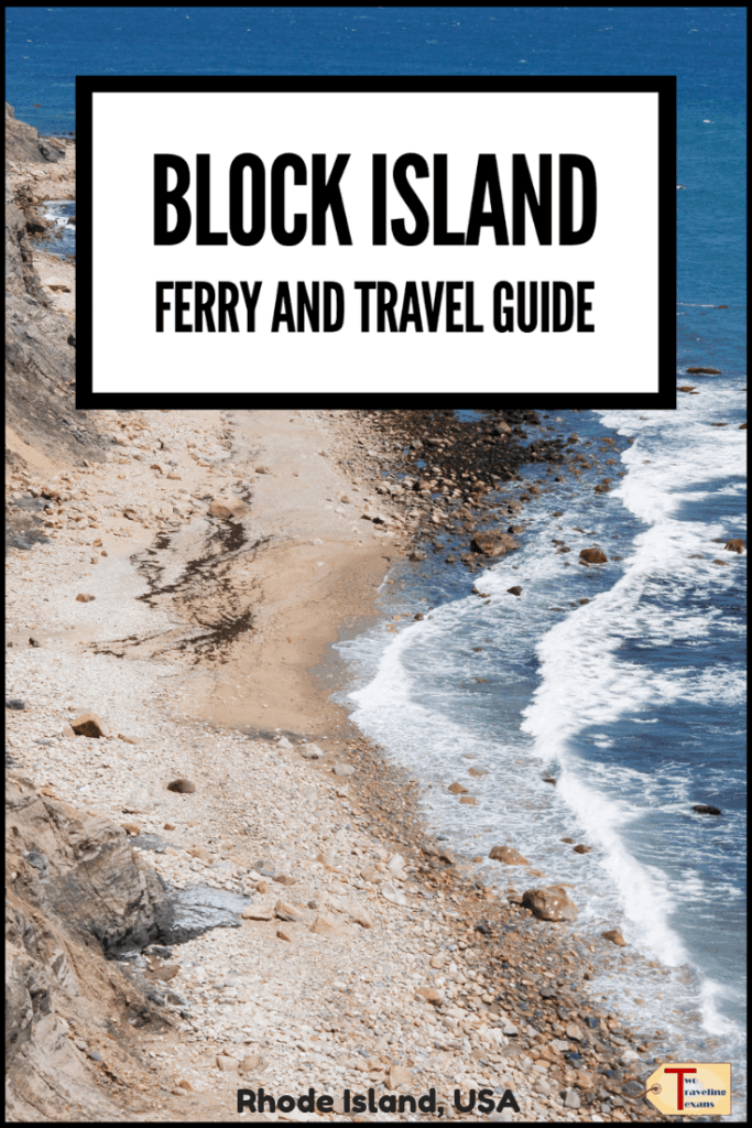 block island rhode island with text overlay