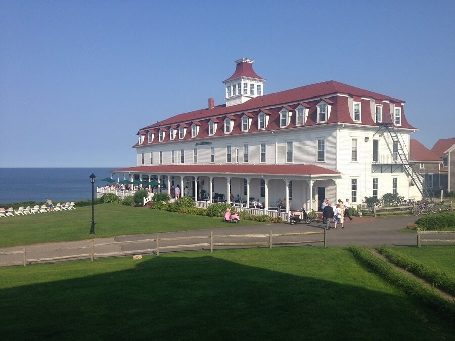 "The Spring House Hotel - ""Block Island Ferry and Travel Guide"" - Two Traveling Texans"