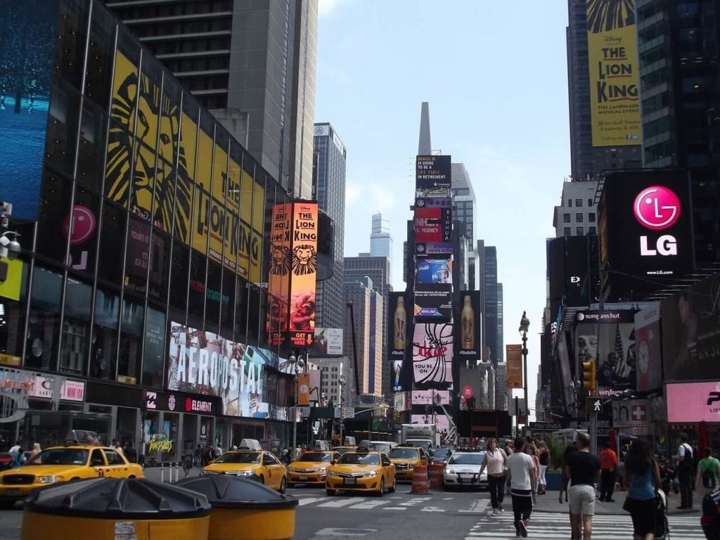 "Times Square - ""Tips for Visiting New York City For the First Time"" - Two Traveling Texans"