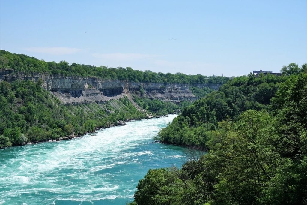 "Niagara Gorge - ""Tips for Visiting Niagara Falls"" - Two Traveling Texans"