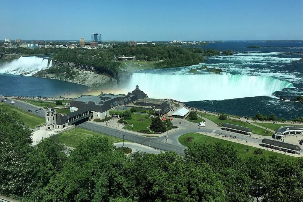 "We loved just staring at the Falls through our huge hotel windows! - ""Tips for Visiting Niagara Falls"" - Two Traveling Texans"