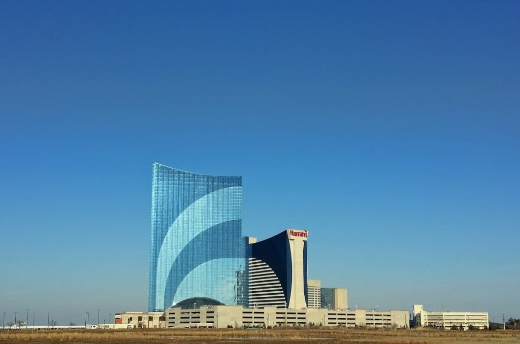 Harrah's Atlantic City Casino is a nice hotel option or you can visit just for the nightclub. - Two Traveling Texans
